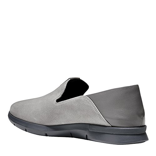 Cole Haan Womens Grand Horizon Slip-on Ironstone Pelle Scamosciata-pelle-magnete