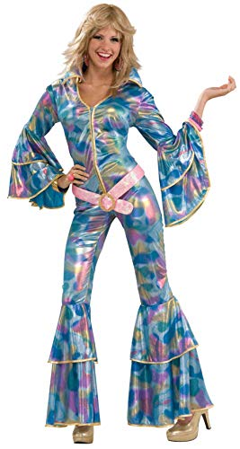 (Forum Novelties Women's 70's Disco Fever Disco Mamma Costume, Multi,)