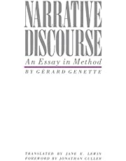 Narrative Discourse: An Essay in Method