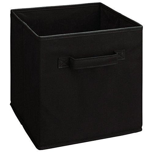ClosetMaid 5784 Cubeicals Fabric Drawer, Black - Storage Drawer Shelf