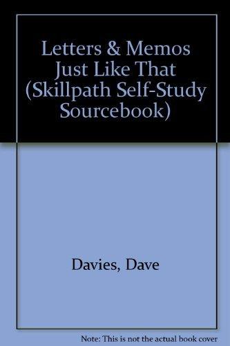 Letters & Memos Just Like That (Skillpath Self-Study -