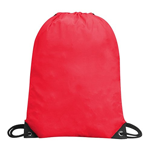 Shugon 5890–80 Stafford Kordelzug Rucksack Tasche, Rot