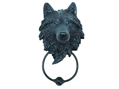 (Nemesis Now Dark Guardian Wolf Door Knocker - Stunning Home Decor 22)