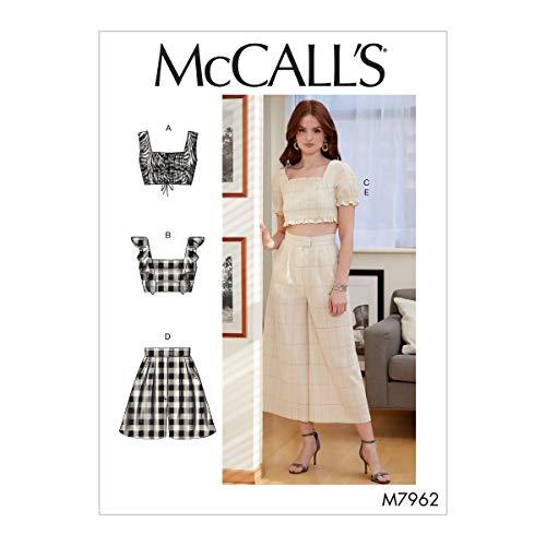 McCall Pattern Company McCall's Women's Crop