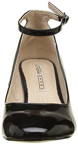 Buffalo con Black Nero Scarpe Pu 1 01 Donna Patent 15p54 Shoes Tacco F6ZrqxwFan