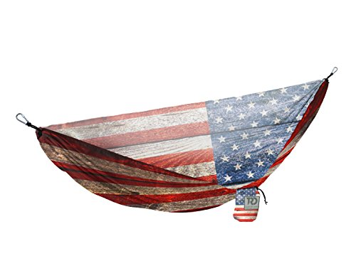 Twisted Print Hammock (USA Wood - Usa Wood
