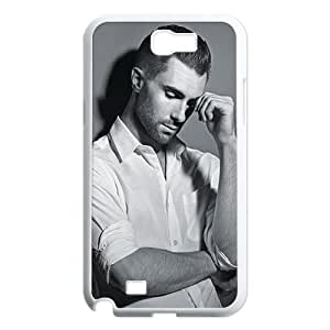 Custom Adam Levine Hard Back Cover Case for Samsung Galaxy Note 2 NT544