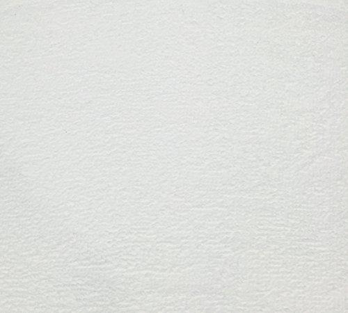 4 Yard Bolt Anti Pill White Fleece Polyester Fabric