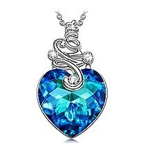 Kami Idea Regalos Dia de la Madre Collares Mujer Joven Tous Mujer Joyeria Colgante Mama Azul Swarovski Cristal Regalos para