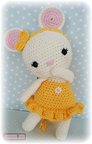 RATITA FLOR de Mariquillas Dolls.: Amazon.es: Handmade