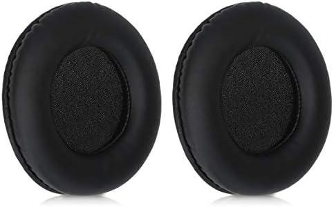 kwmobile 2x イヤーパッド対応: Sony MDR-DS7000 / RF6000 / RF6500 / CD470 ヘッドフォン - PUレザー イヤーパッドカバー 交換用