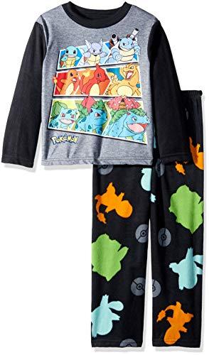 Pokemon Boys Evolving 2-Piece Fleece Pajama Set