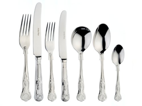 Arthur Price Kings - Arthur Price Classic Kings Solid Handled 44 Piece (6 Person) Can