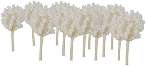 Hellery 50ピース 1/300 モデルツリー 樹木 木 情景コレクション ジオラマ 建築模型 電車模型 装飾