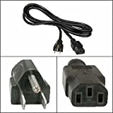 6Ft Computer Power Cord 5-15P to C-13 Black, SVT 18/3