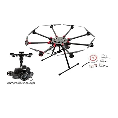 DJI Spreading Wings S1000+ Professional Octocopter with Zenmuse Z15-5D III (HD) 3-Axis Gimbal & A2 Flight Control System, Transmitter Not Included