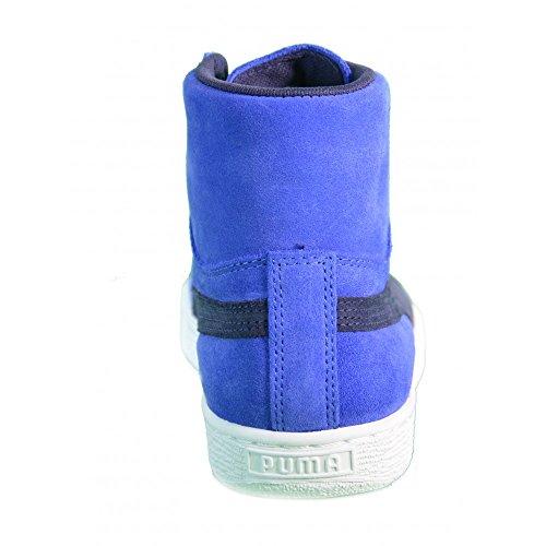 Mid Puma Sneaker Blau Suede Damen 5Bq6X