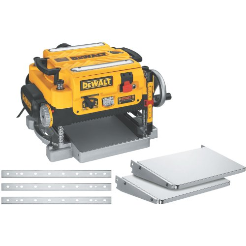 - DEWALT DW735X Two-Speed Thickness Planer Package, 13-Inch
