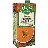 Pacific Foods Soup Vegan Tomato Basil Organic, 32 oz