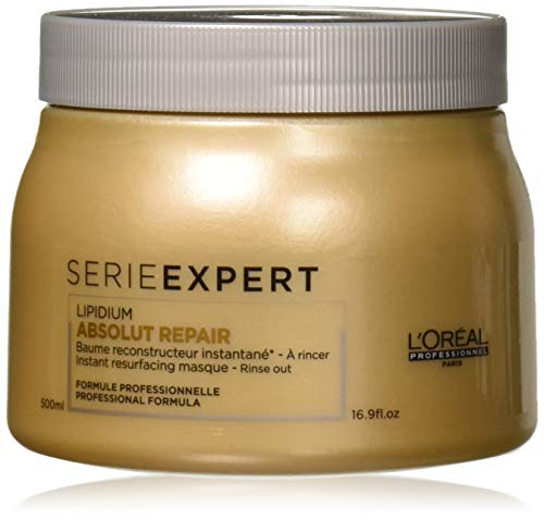 L'OREAL SERIE EXPERT LIPIDIUM ABSOLUT REPAIR INSTANT RESURFACING MASQUE (new packaging), 16.9 Oz. (Repair Masque)