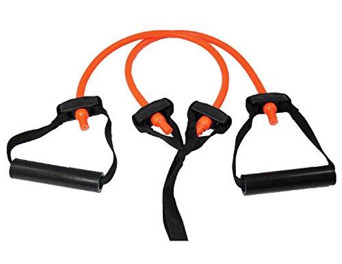 Perform Better Portable Travel Exercise Bands, Medium/Orange