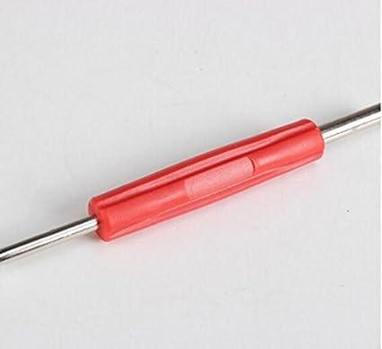 JinZhiCheng VT-06 - Destornillador de doble cabeza para válvula de ...