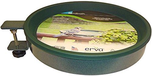 Erva BA1G Bird Bath - Clamp Mount44; Green