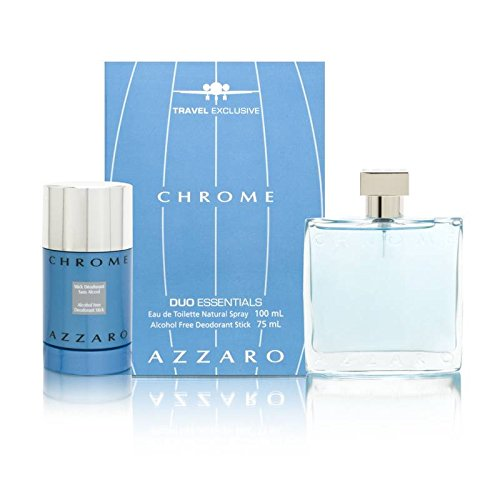 Chrome by Loris Azzaro for Men 2 Piece Set Includes: 3.4 oz (Loris Azzaro Deodorant Stick)
