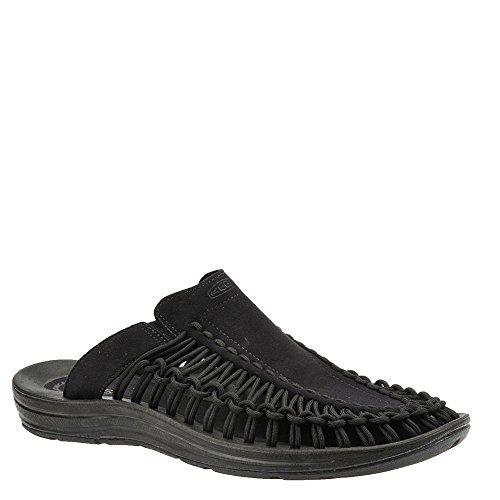 Keen Men's Uneek Slide-M Sandal, Black/Black, 11.5 M US