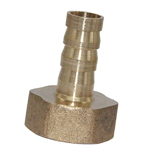 Compressor Tecumseh Fitting (Straight Brass Fitting BSP 1/2 Female 10mm Barb Quick Joint Pipe Connector)