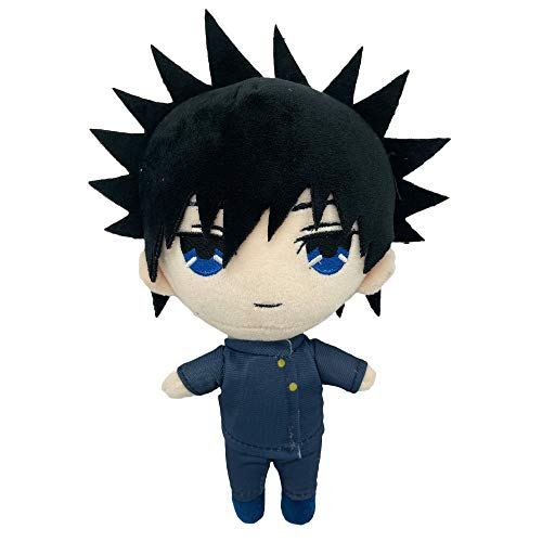"""Augwindy 7.8"""" Plush Doll Anime Merch Figure Plushie Stuffed Toy Cosplay Props for Fans  Fushiguro, 7.8"""""""