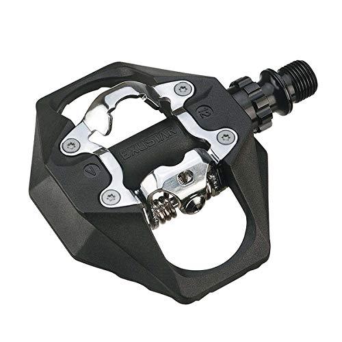 Exustar Multi Face E-PM816 Pedalo Ciclo Unisex Adulto 109 x 95 mm Nero