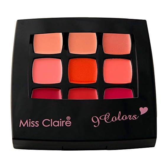 Miss Claire 9 Colors Lip & Cheek, 2 Multicolour, 4 g