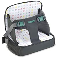 Baby Grow Travel 3-in-1 Multi-Function Inflatable Baby Booster Seat (Grey)