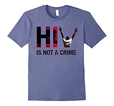HIV is NOT a CRIME T-Shirt (HEATHER TONES)
