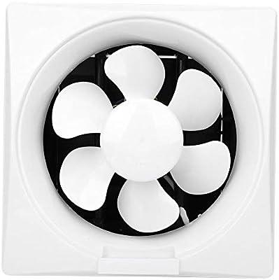 Zouminyy Ventilador de bajo ruido 220V del extractor del obturador para la ventana del cuarto de baño de la cocina ...