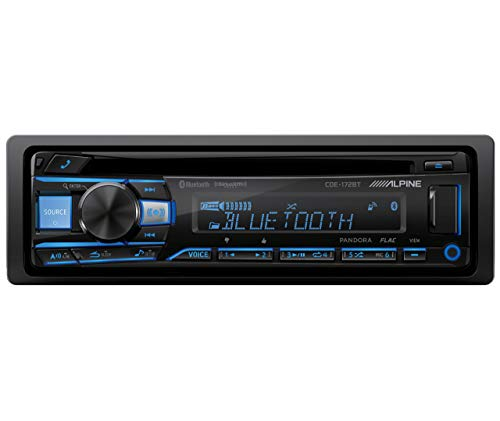 Alpine CDE-172BT Bluetooth Receiver (replacement of CDE-143BT) (Alpine Iphone Car Stereo)