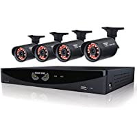 Night Owl 960H 4 Ch 4 Cam 650TVL 500GB Kit