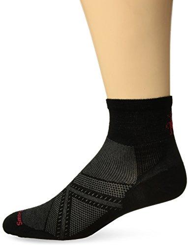 Smartwool PhD Run Ultra Light Mini Socks (Black) X-Large (Smartwool Ultralight Socks)