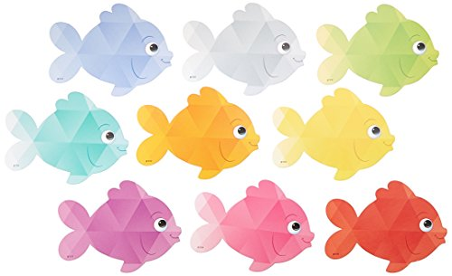 Teacher Created Resources (3551) Colorful Fish Mini Accents
