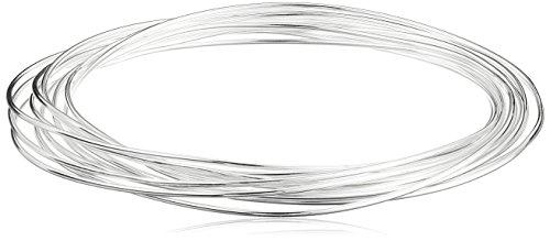 Sterling Silver Interlocking Bangle Bracelets