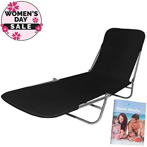 Folding Beach Lawn Chair Lounger