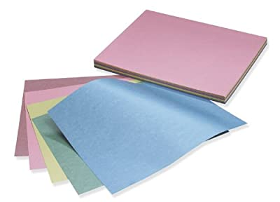 """Reminiscence Card Stock, 8 1/2""""X11"""", Pearl Brights Assorted, 50 Sheets"""