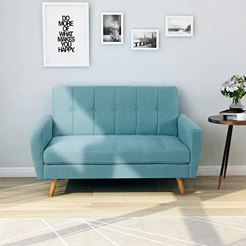 - Harper & Bright Designs Living Room Sofa loveseat Sofa Upholstered Living Room Fabric loveseat Sofa Small Space Sofa