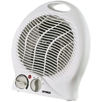 Amazon Com Optimus Portable Fan Heater With Thermostat