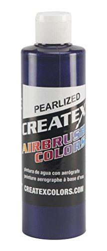 Createx Colors Paint for Airbrush, 8 oz, Pearl Purple