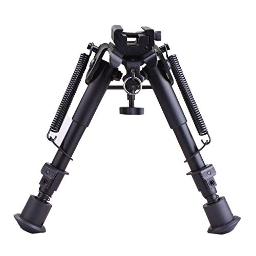 CVLIFE 6-9 Inches Tactical Rifle Bipod Adjustable