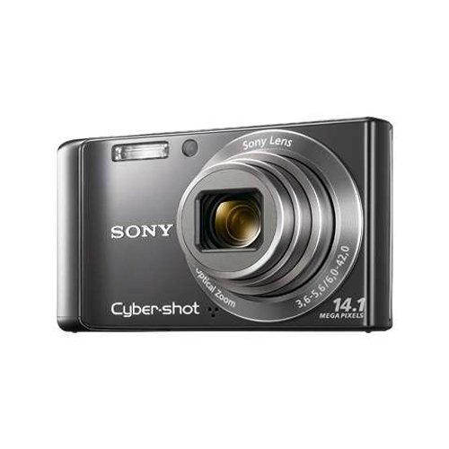 Sony DSC-W370 Cyber-Shot 14.1 MP Digital Camera with 7x O...