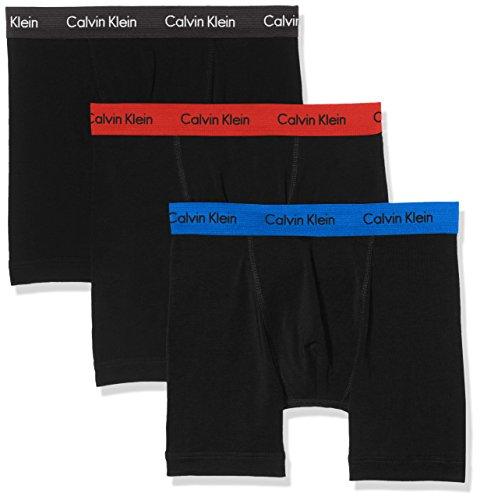 Calvin 3 black magnet Heat Klein Boxer lot De Brief Blue red Multicolore muscari Homme qYBrCwqx1