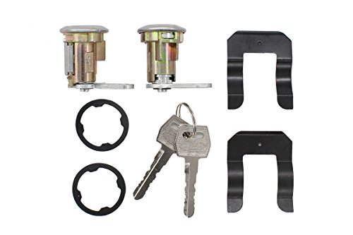 New Pair of Door Lock Cylinder Keys For Ford E-150 E-250 E-350 E-100 Truck Van Granada Mustang Pinto Thunderbird Bronco F-100 F-150 F-250 LTD Maverick Mercury Monarch Bobcat Capri